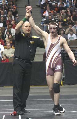 Saldo 250 Spartan Wrestlers Sadlo and Pickert Win State Titles