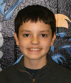 Zach Damberger 350 Turner Middle School, Students of the Month
