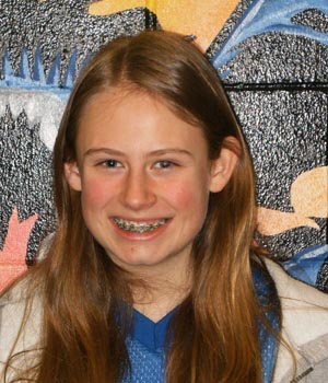 Zoe Goreski 350 Turner Middle School, Students of the Month