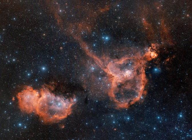 heart and soul nebula 670x490 Astronomy Picture of the Day