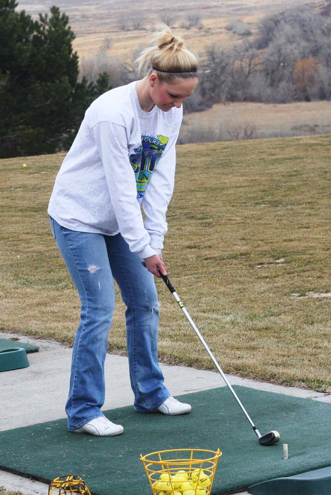 Alexis Petty 91 Spartan Golfer Brandi Peter Aims for State