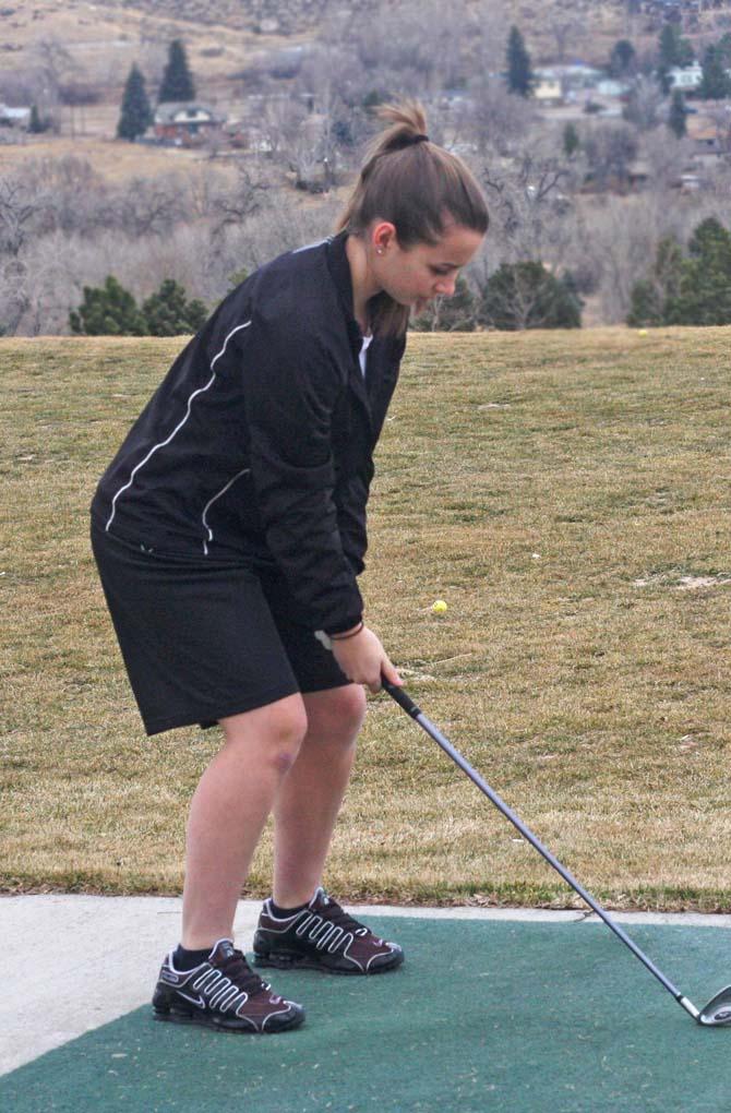 Hannah Haggas 10 Spartan Golfer Brandi Peter Aims for State