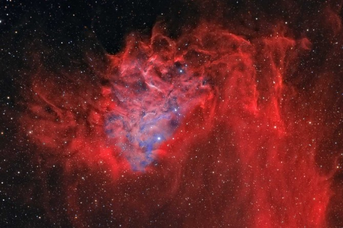 IC405FlamingstarDetail geissinger1699 670x446 Astronomy Picture of the Day