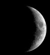 Moon 4 phases waxing crecent2 Sky Tonight—March 11, Moon and star Aldebaran close in evening sky