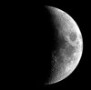 Moon 5 phases waxing crecent Sky TonightMarch 10, Moon shines close to Pleiades star cluster