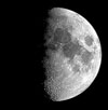 Moon 8 phases Sky Tonight—March 14, Moon and Gemini stars high in south