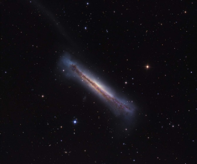 NGC3628crawford 670x558 Astronomy Picture of the Day