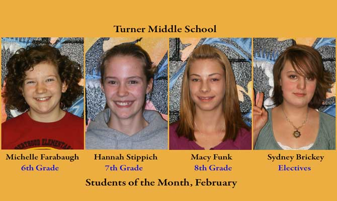 TMS som feb 1 Turner Students of the Month