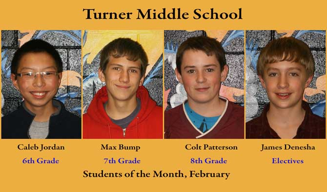 TMS som feb 2 Turner Students of the Month February