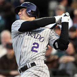 Troy Tulowitzki Rockies Enter 2011 with Mile High Expectations