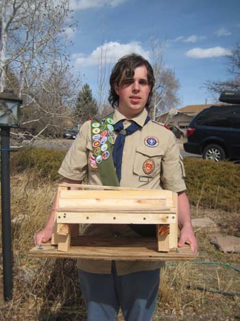 Yannutz 350 Boy Scout Plans to build Public Bench