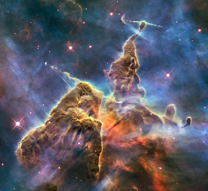 carina08 hst 2100 670x616 Astronomy Picture of the Day