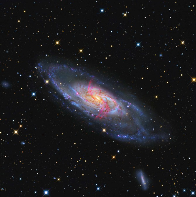 lrg ngc4258gabany 670x673 Astronomy Picture of the Day