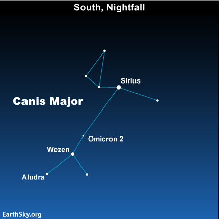 mar261 Sky TonightMarch 26, Is Sirius the most luminous star in the sky?