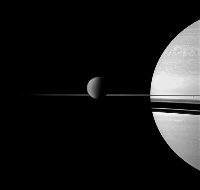 titansaturn cassini 1018 670x637 Astronomy Picture of the Day