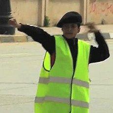 Benghazi Boy Scouts directing traffic 230 Libyan Boy Scouts take on big role