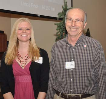 Danielle and Mark Loveland Honors two from Berthoud