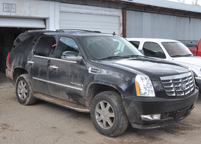 Escalade Berthoud Police Beat — April, 2011