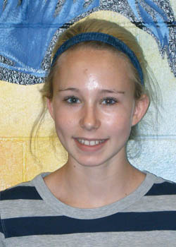 Haley Hummel Turner Middle School, Students of the Month of April
