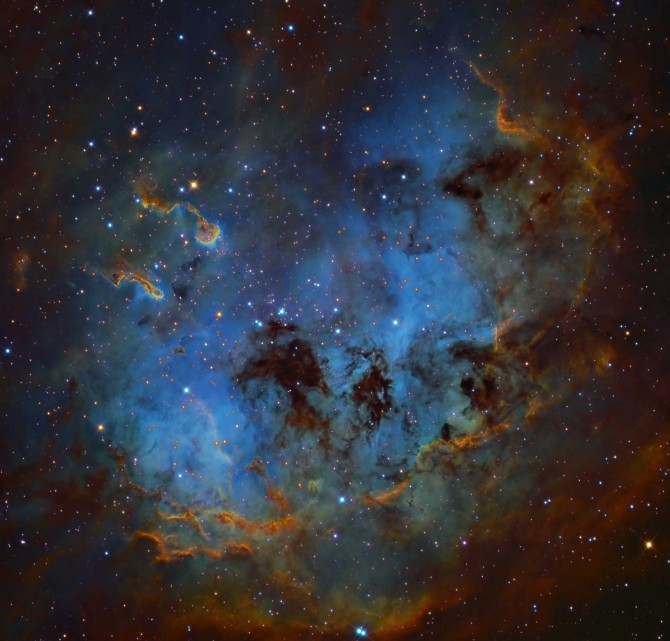 IC410 hanson 670x641 Astronomy Picture of the Day
