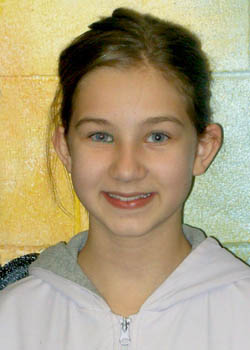 Kayla Schloemer Turner Middle School, Students of the Month of April