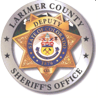 Larimer Sheriff1 Crystal Fire: April 7   Road Blocks lifted at noon