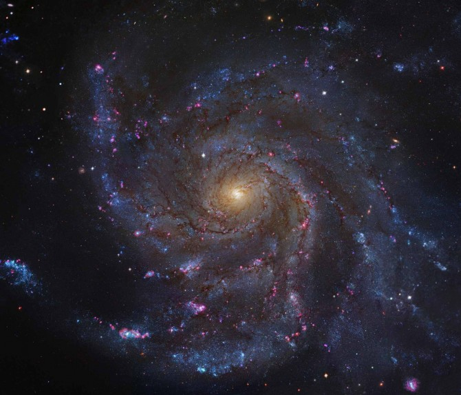 M101HST GendlerM 670x573 Astronomy Picture of the Day