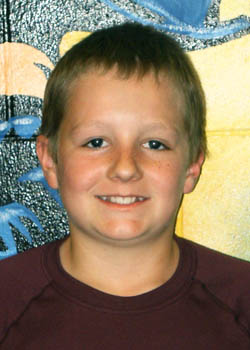 Nick Yuska Turner Middle School, Students of the Month of April