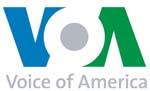 Voice of America logo Libyan Boy Scouts take on big role