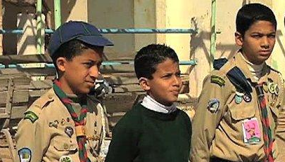 benghaziboyscouts1 Libyan Boy Scouts take on big role
