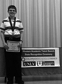 ChaseRaymentACTAward gs Chase Rayment receives academic award