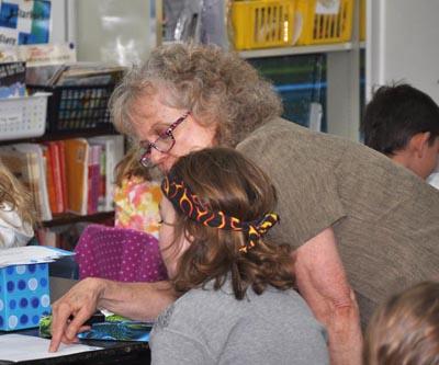 Judy Sanford 400 Three teachers retiring at Ivy