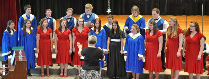 Mixed choir Panorama1500 670x255 Evening with Arts at Berthoud High School