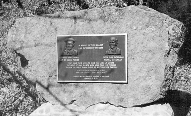 "Officers memorial Bill Dye, an ""Every Day Hero"""