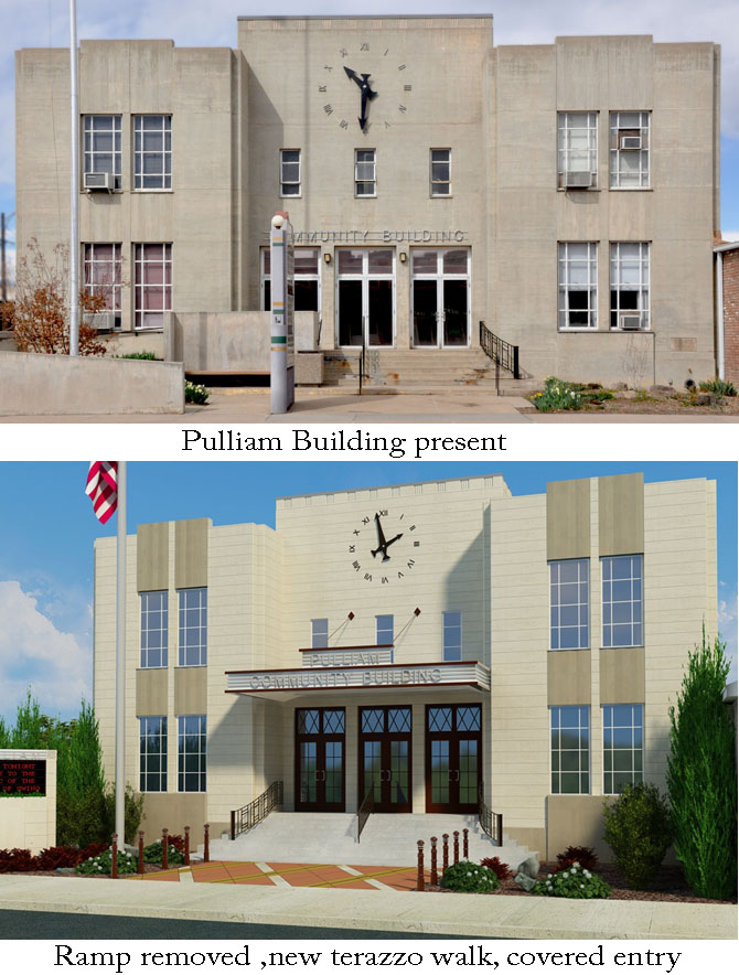 Pulliam building before and after The Pulliam Building