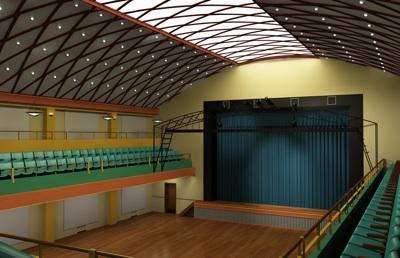 Remodel Auditorium Shot 1 The Pulliam Building