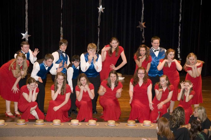 Show Choir 1200 670x445 Evening with Arts at Berthoud High School