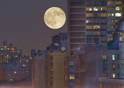 fullmoon Sky TonightMay 16, Will you see a fuller moon tonight  or tomorrow?