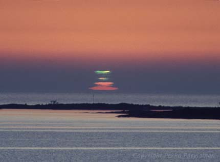 greenflash parviainen Sky Tonight—May 12, How to see the green flash