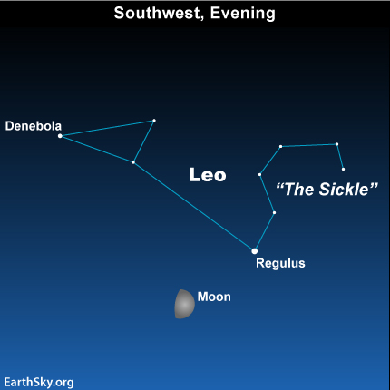 may11 Sky Tonight—May 11, Moon brushes the belly of Leo