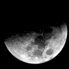 "phases r 07 1st qtr Sky Tonight—May 10, First quarter moon shows a ""flat"" edge"