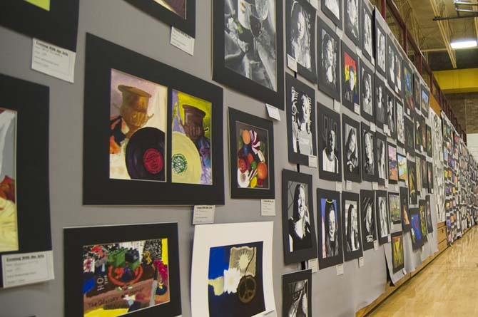 wall of art Evening with the Arts