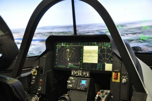 Cockpit1 300x199 Ball Aerospace expands for F 35 production