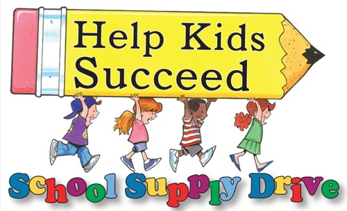 Help kids succeed Help Kids Succeed with school supplies!