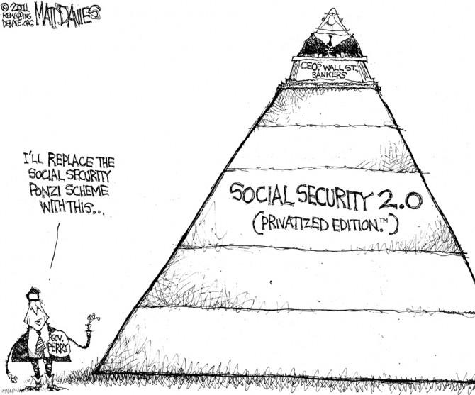 editorial cartoon original1 670x557 Pharaoh and balanced: Perrys Ponzi Plan