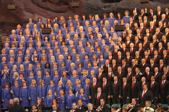 "mormon T choir1 ""9/11: Rising Above"""