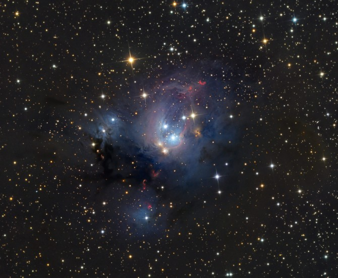 NGC7129 schedler c70 670x551 Astronomy Picture of the Day