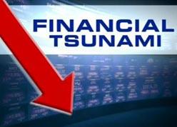 aa financial tsunami arrow pointing down Meltdown: Episode 2