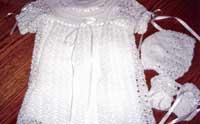 crochet christining outf003 Berthoud United Methodist Craft and Food Fair