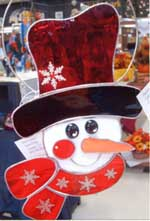 stained glass snowman001 Berthoud United Methodist Craft and Food Fair
